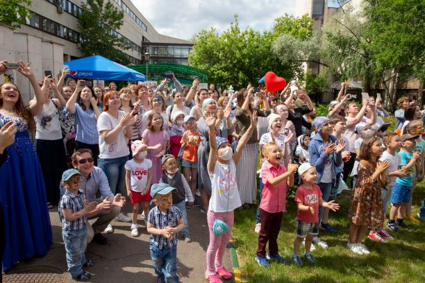 В НИИ детской онкологии и гематологии прошел праздник в честь Дня защиты ребенка