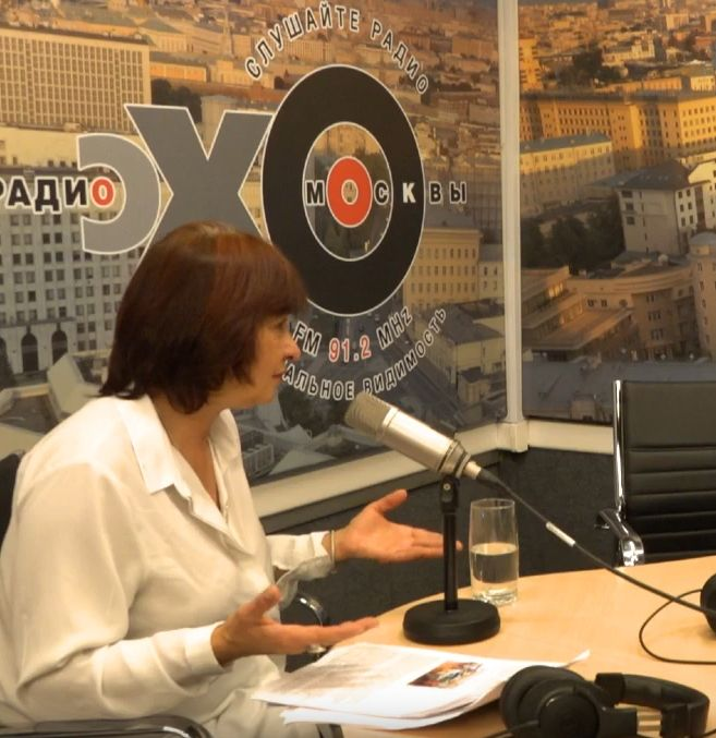 Интервью Джамили Алиевой в эфире радио «Эхо Москвы»