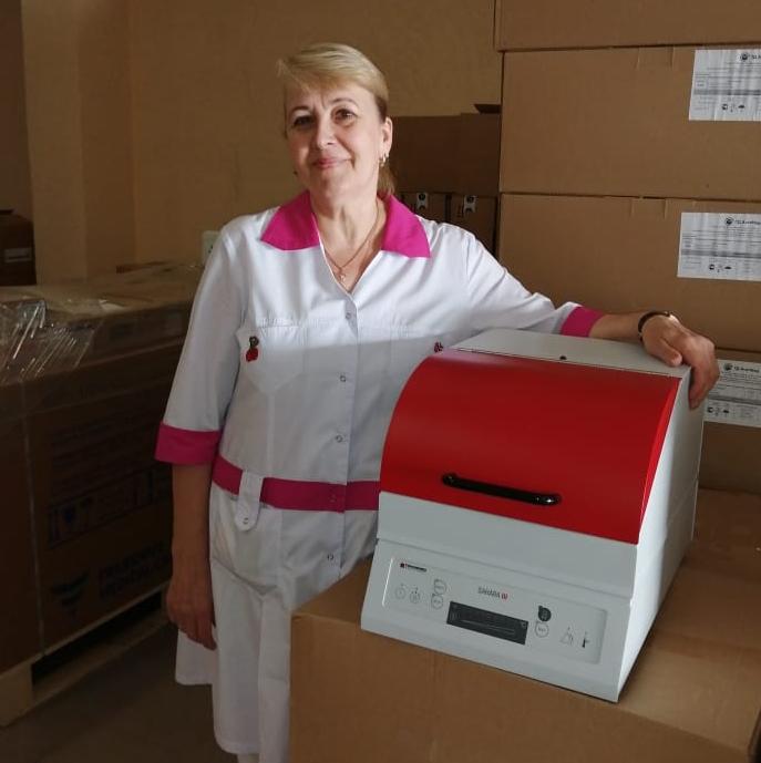 «Помощь больнице»: размораживатели крови для РДКБ
